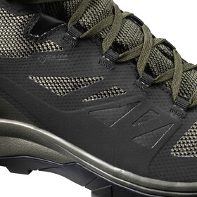 Salomon OUTline GTX Mid Shoes Herre black/beluga/capers